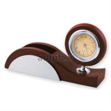 ساعت چوبی رومیزی