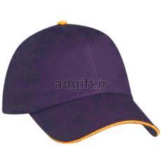 کلاه کتان 6 ترک مغزی دار