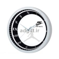ساعت دیواری با قابلیت چاپ روی شیشه