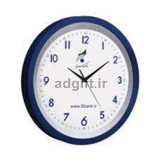 ساعت دیواری مدل الگانس با قاب دورنگ
