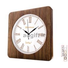ساعت دیواری با فریم چوبی و موتور تایوان